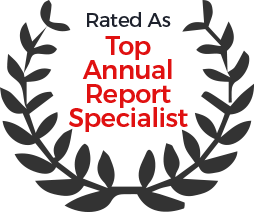 top annual report specialist